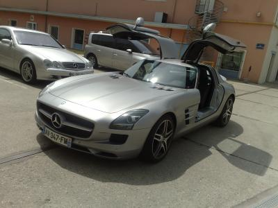 Renovation interieur mercedes sls